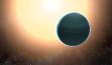 exoplanet atmospheres, HAT-P-26b, Hubble Space Telescope, Spitzer Space Telescope, Warm Neptune