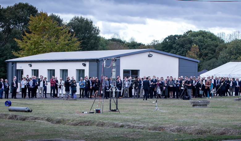 Launch of the Westcott Space Cluster at Westcott Venture Park, Buckinghamshire, UK