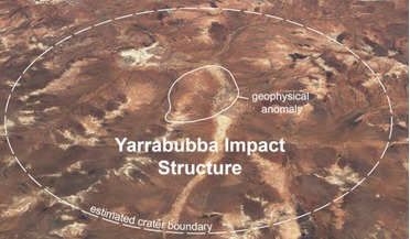 ice age, Impact crater, Snowball Earth, Yurrabubba crater