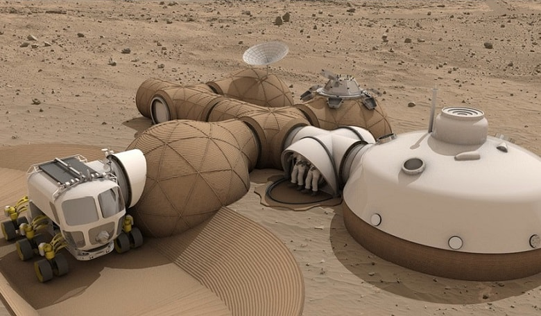 How To 3d Print A Habitat On Mars Room The Space Journal