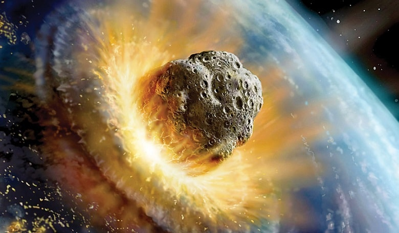 The devastating impact of an asteroid striking Earth near a centre of population