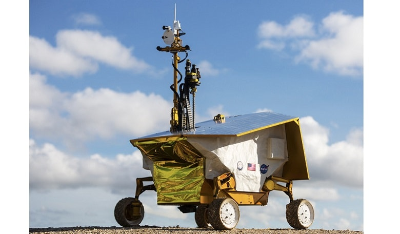 The 'RP15' rover/ payload system conceived, built and deployed in a single year, and operated in a simulated lunar environment on Earth
