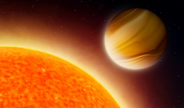 The most extensive survey of atmospheric chemical compositions of exoplanets to date has revealed trends that challenge current theories of planet formation. Image: Amanda Smith