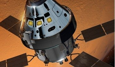 Lockheed Martin, mars, Mars Base Camp, NASA, Orion