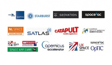 business incubators, ESA, European space industry