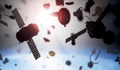 Many tens of thousands of man-made debris objects are in Earth orbit posing a dynamic collision risk to operational satellites and other debris.