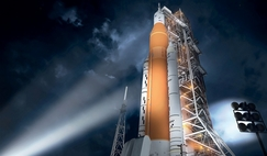 SLS Block 1, the initial configuration of NASA's new super heavy lift launch vehicle, will be able to lift at least 70 metric tons to low Earth orbit and is the cornerstone of a new deep space exploration system.