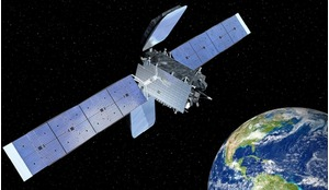 Hispasat's GEOStar-2 communications satellite launched into GEO in 2014.
