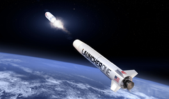 Virgin Orbit's LauncherOne, a twostage, expendable rocket that launches from a dedicated 747-400 carrier aircraft, called Cosmic Girl has been contracted for launches to replenish the OneWeb constellation and for the GomSpace ADS-B and AIS monitoring