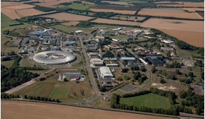 The Harwell Science and Innovation Campus.
