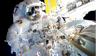 astronaut monitoring, intelligent devices, spacesuit, technology translation, wearable technology