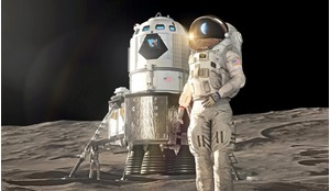 Lockheed Martin's concept for a crewed lunar lander is a single stage, fully reusable system that incorporates many of Orion's flight-proven technologies and systems.