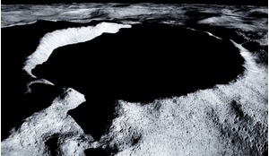 Shackleton Crater.