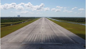 Space Florida acquired the former Space Shuttle Landing Facility, a 15,000-foot runway, in 2015.