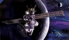 The Lunar Gateway will orbit the Moon serving as a space station and hub for lunar and deep space exploration.