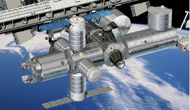 Asgardia, Asgardia Earth Ark, ESA, ISS, node module, Space Station