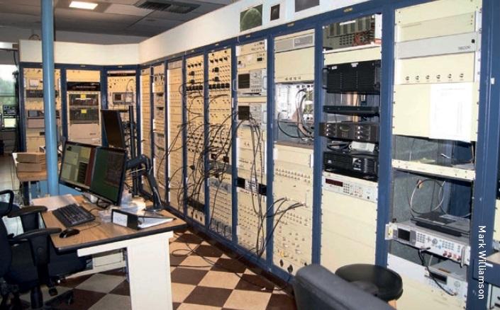 Arecibo telescope control room.
