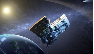 Wide-field Infrared Survey Explorer (WISE) spacecraft used to hunt for asteroids and comets in a project called NEOWISE.