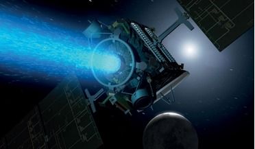 annular ion engine, electric propulsion, evolutionary xenon thruster, innovation, NASA