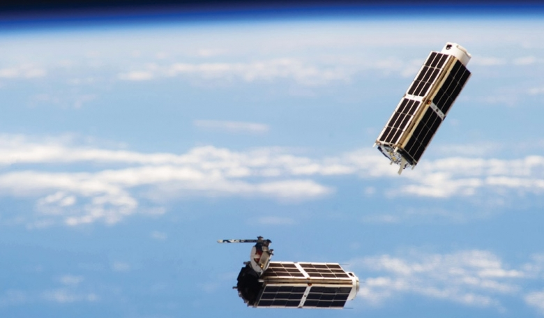 The changing architecture of space - a pair of Dove smallsats deployed from the International Space Station on behalf of California-based Planet.
