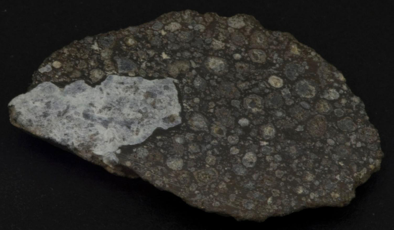 A meteorite similar to those studied by Audrey Bouvier and Maud Boyet, which holds evidence that could change our idea on how the Earth was formed. Image: University of Western Ontario