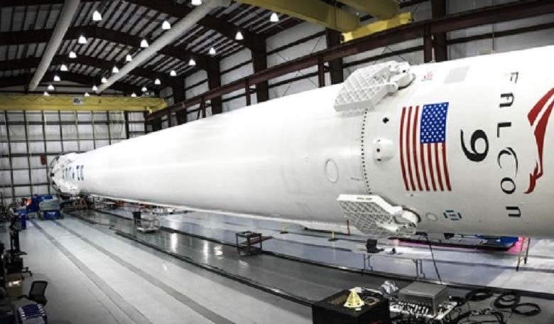 SpaceX Falcon 9 rocket. Image credit: SpaceX.