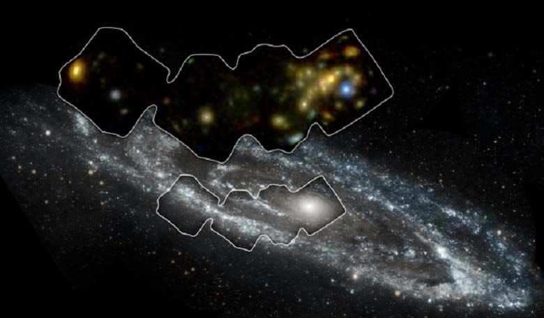 Galaxy in high-energy X-rays. Image credit: