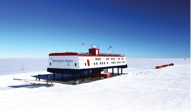 The German Antarctic research station Neumayer-Station III