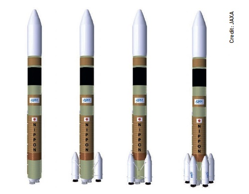 Concepts for the H3 rocket, capable of launching satellites large and small for industries worldwide