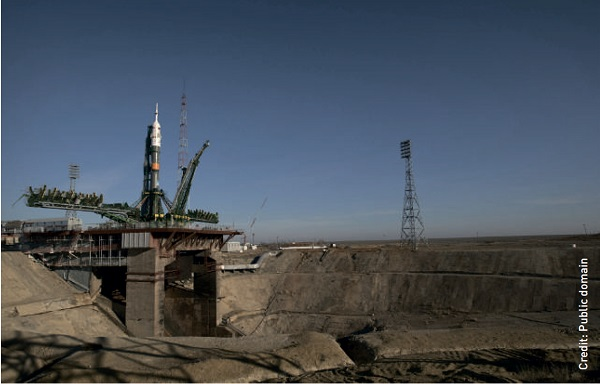 Could the Baikonur Cosmodrome be more environmentally friendly if it occupied a smaller area?
