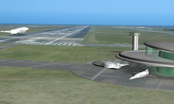 Turning a daily or weekly launch schedule into a visitor attraction would be a good way to promote and pay for a spaceport