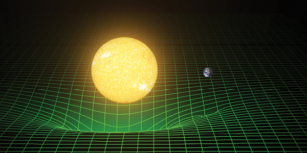 Figure 1: Comparison of Sun and Earth embedding diagram