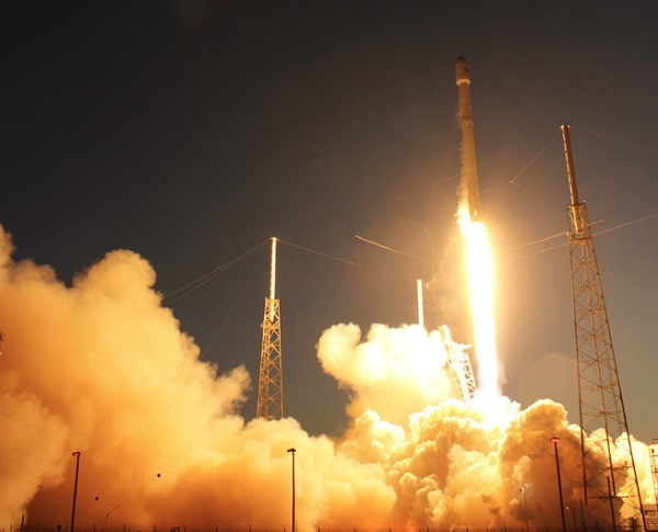 Launch of SpaceX Falcon 9 on 4 March 2016