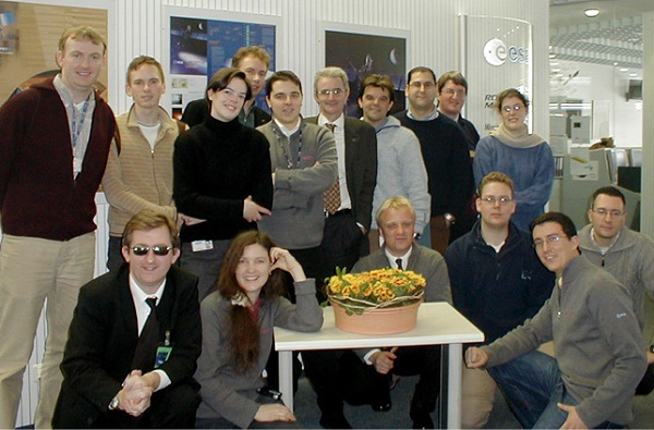 Rosetta flight control team 2002