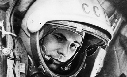 Yuri Gagarin - the 55th anniversary of his historic spaceflight was celebrated on 12 April