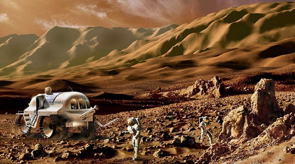 Exploring Mars with mobile laboratory (Digital), from 'Futures'